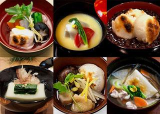 日本全国お雑煮マップ