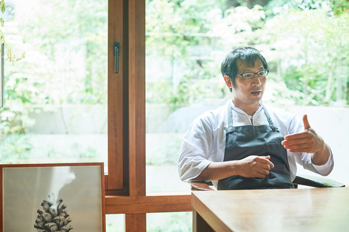 新しい日本の情景を表現する料理を目指す『セララバアド』