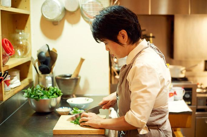 ひょんなことから料理研究家ではなく、レストランをやることに。