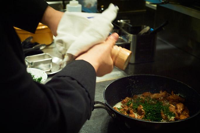 『ジョエル・ロブション』では日本人料理長として、記憶に残る料理人を目指した。