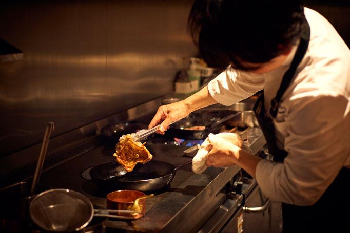 幼な心に感動した料理は「鯉とスッポンの雑炊」。
