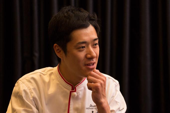 『szechwan restaurant 陳』のオープニングスタッフとしてスタート。