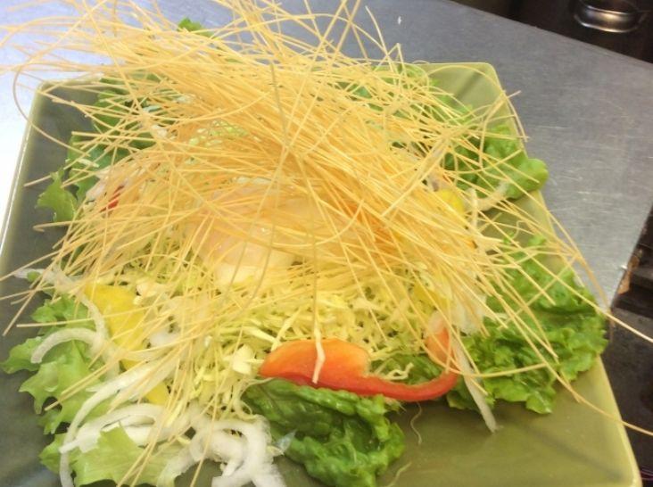 島原手延べ素麺のハリハリサラダ