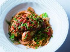 牡蠣のスパゲッティー マリナーラ