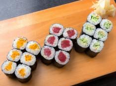 寿司屋直伝 三色巻き(鉄火・かっぱ・たくあん)