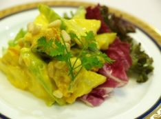 南瓜と林檎のヨーグルトサラダ