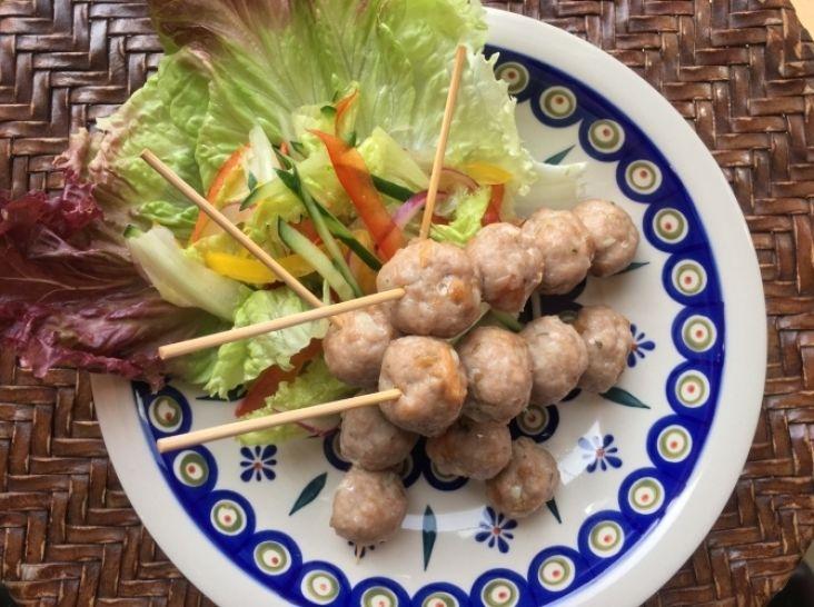 「ワッター・トゥトゥ」ミャンマー風豚つくね