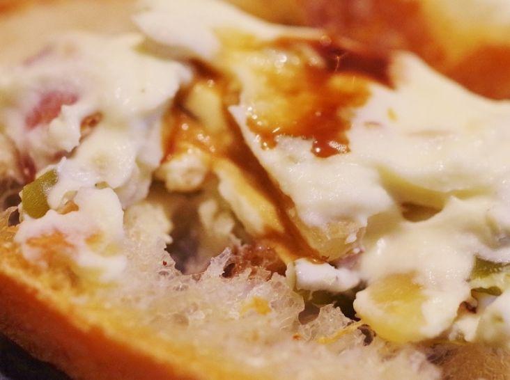 茎わかめのピクルス クリームチーズ和え