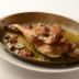 地鶏のシチリア風ロースト