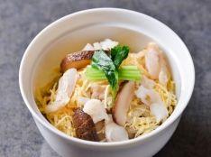 紅王(甘鯛干物)の蒸し寿司