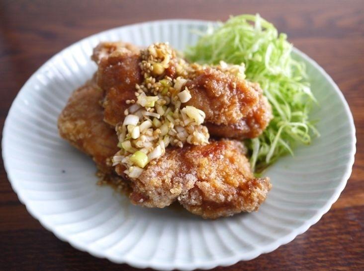 若鶏の竜田揚 香味ソース