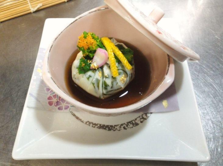 菜の花豆腐