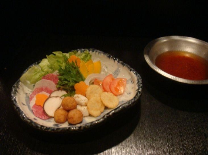 野菜しゃぶしゃぶトマトスープ仕立て