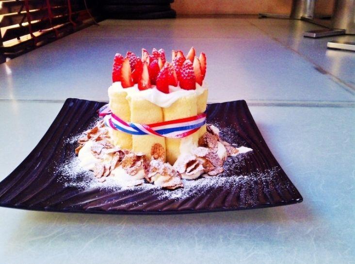 今年は失敗なし‼ショートケーキキャンドル