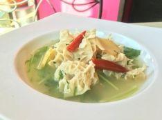 「アメーウーツン・チェ」ミャンマー風牛モツのザサン煮