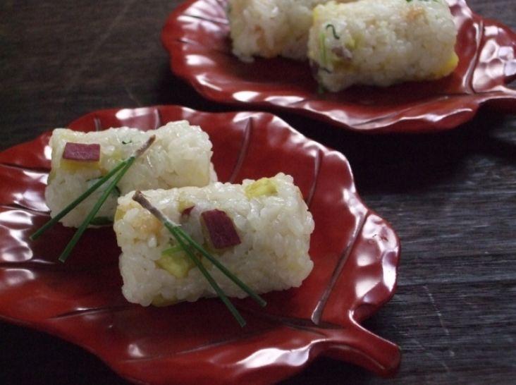 炊き込みご飯 (さつま芋)