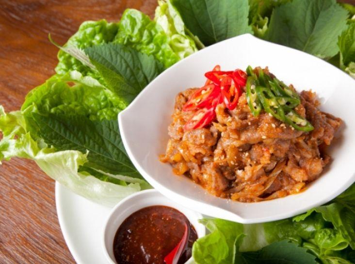 プルコギ(韓国焼肉)
