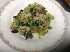イタリアンの基本中の基本。 アーリオ・オーリオのパスタ料理