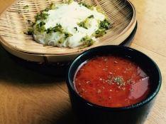 島原手延べ素麺 ピリ辛トマトつけ麺風