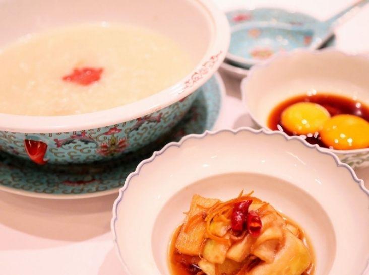 大根のお粥スープ (米湯夢ト)