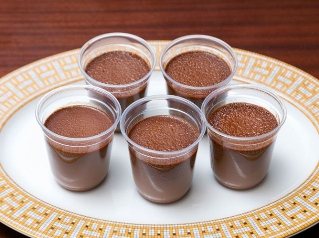 レシピ チョコ プリン