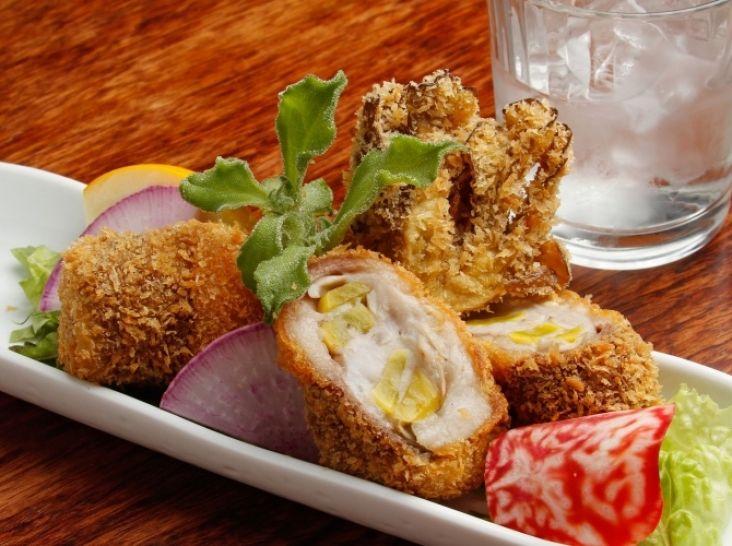 里芋と舞茸の絶品とちぎ和牛巻きコロッケ