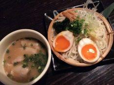 五島手延べうどんのつけ麺