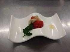 苺とゴルゴンゾーラのマリアージュ