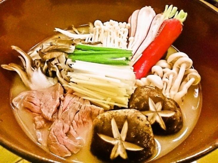 【エゾシカ】身体ポカポカエゾシカの生姜味噌バター鍋