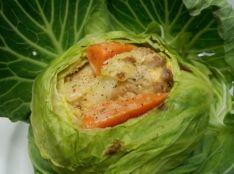 丸ごとキャベツの鶏野菜シチュー ちょっぴりリゾット風