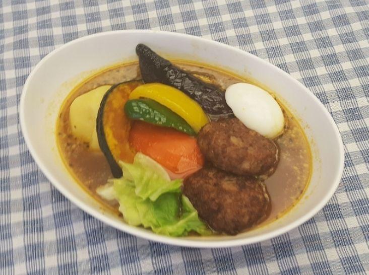 【エゾシカ】エゾシカ肉の野菜スープカレー
