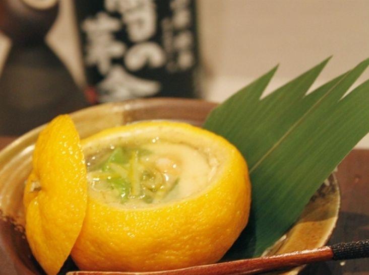 柚子風味香る、「柚子茶碗」蒸し