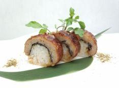 ウナギもどきの捧寿司おにぎり 鰹と海苔の海の香り