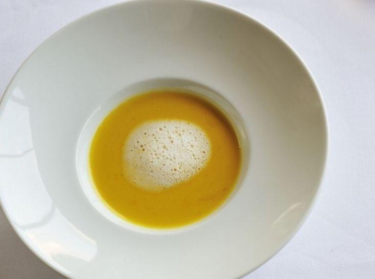 ひょうたんかぼちゃのクリームスープ