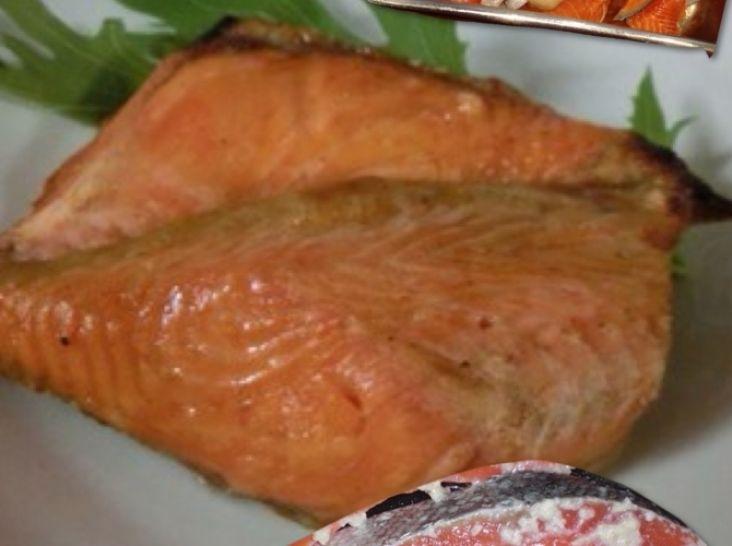 簡単!10分だけで自宅でプロの味♫【紅鮭のギリシャ味噌焼き】