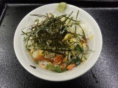 焼き魚のちらし寿司