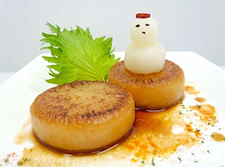 伝統の江戸料理 焼き大根を現代風に。
