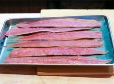 秋刀魚の大名卸し(三枚卸し)