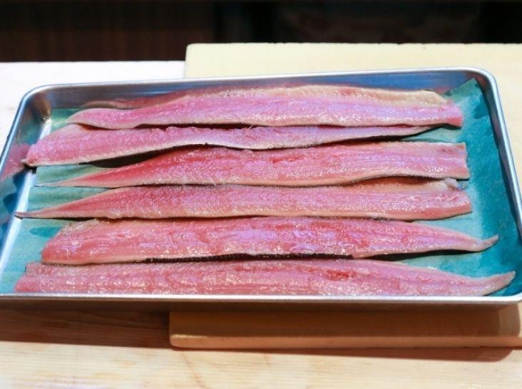 秋刀魚の大名おろし(三枚おろし)