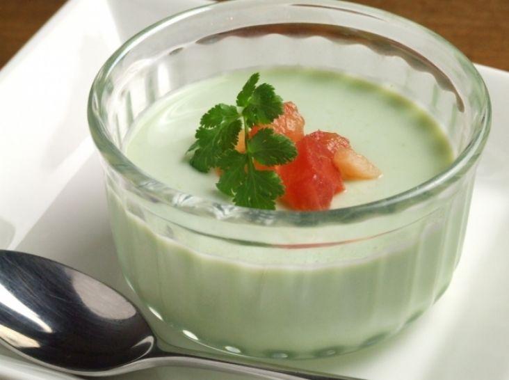 野菜づくし!チンゲン菜のミルクプリン