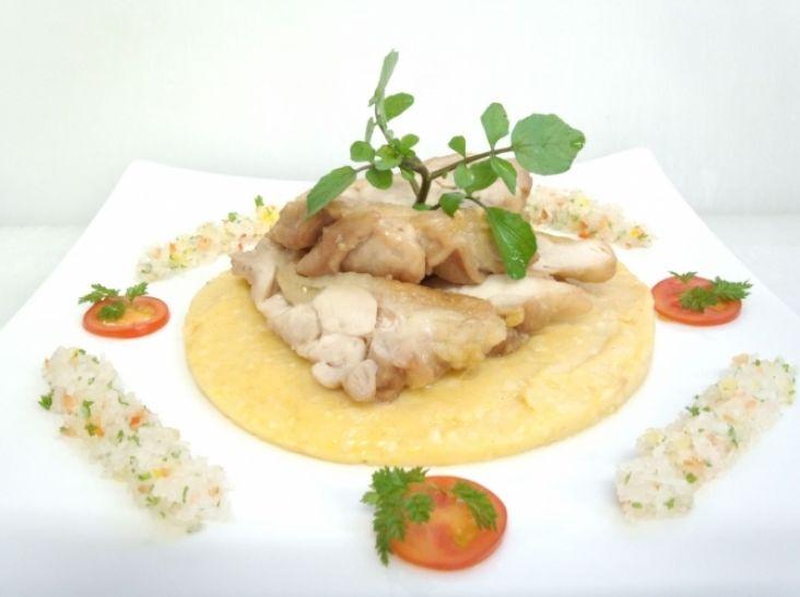チキンロースト~肉&魚のローストに万能なポテトソース添え~