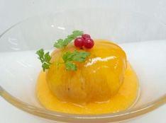富有柿の丸ごとゼリー 完熟柿をソースとして。