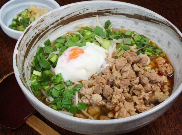 島原・手延べ素麺 台湾式・肉温麺