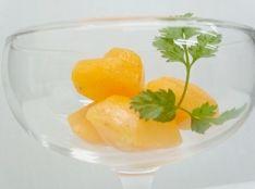 残った完熟の柿で簡単!柿のシャーベット