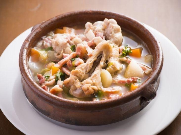 コシード風スープ スペイン風ポトフを家庭用にアレンジ