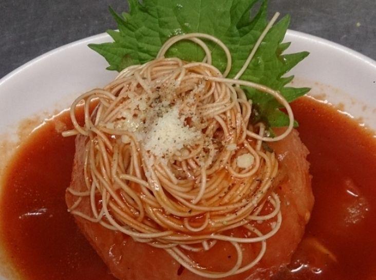 丸ごとトマトの温麺