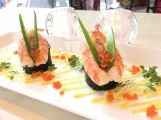 端午の節句 鎧兜ロール寿司