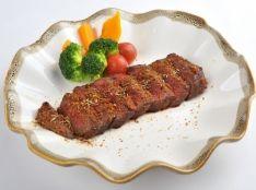 蒜山ジャージー牛肉のモンゴル風ステーキ