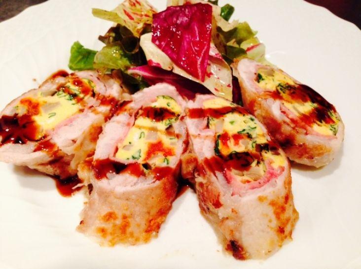 豚肉と野菜のフリッタータのロートロ