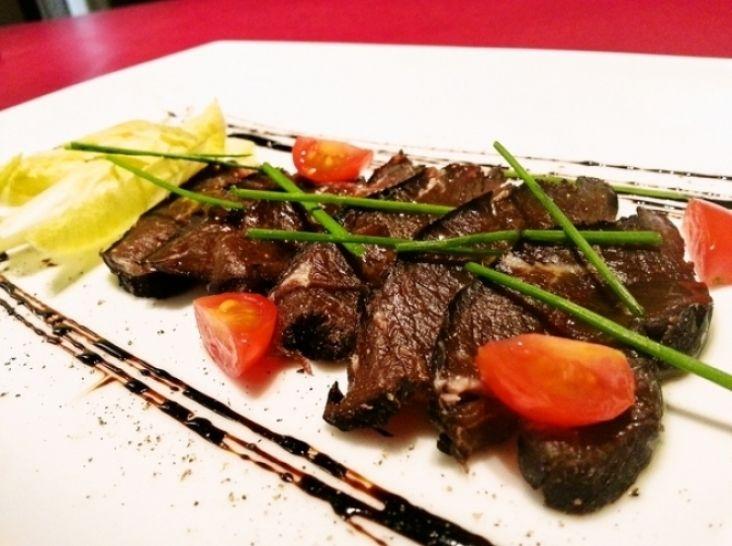 【エゾシカ】エゾシカもも肉の自家製生ハム